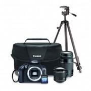 Kit Cámara Canon EOS T6 Premium + 2 Lentes + Trípode + SD Lexar 16GB