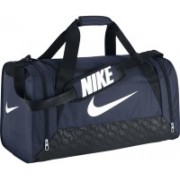 Nike NIKE BRASILIA 6 DUFFEL MEDIUM NAVY BAG Travel Duffel Bag(Blue)