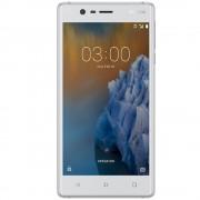 "Telefon mobil Nokia 3 Dual SIM 5.0"", 4G, RAM 2GB, Stocare 16Gb Silver White"