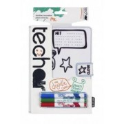 Tech Air Étui tablette 10'' et iPad coloriable - TechAir Doodle Case