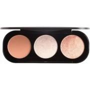 Paleta Trio fard obraz Focallure blush si iluminator FA2602