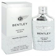 Bentley Infinite Rush Eau De Toilette Spray (White Edition) By Bentley 3.4 oz Eau De Toilette Spray