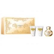 Eros pour femme - Versace CONFEZIONE REGALO profumo 50 ml EDP SPRAY + bath e shower gel 50 ml + body lotion 50 ml