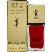 Yves Saint Laurent La Laque Couture Esmalte de Uñas - 01 Rouge Pop Art