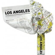 Mapa Crumpled City Los Angeles