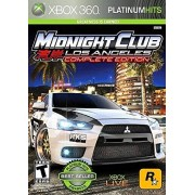 Take-Two Interactive Midnight Club Los Angeles complete edition Xbox 360 Platinum Hits