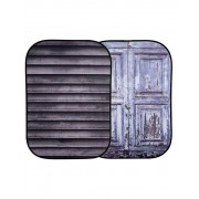Pachet Lastolite Fundal pliabil Shutter Distressed Door 1.5x2.1m + Lastolite Suport magnetic compatibil fundaluri pliabile