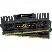 RAM Corsair DDR3, 1600MHz 16G 2x240 Dimm, Unbuffered, 10-10-10-27, with Vengeance Black Heat Spreader - Core i7, Core i5 and Core - CMZ16GX3M2A1600C10