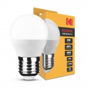 Ampoule LED Kodak Max Bougie G45 5W E27 270° 6000K (450 lumen)