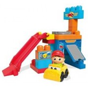 Set De Blocuri Mega Bloks First Builders Spinning Garage