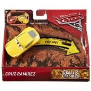 Masinuta Disney Pixar Cars 3 Crazy 8 Crashers - Cruz Ramirrez