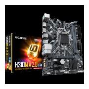 GIGABYTE Main Board Desktop Intel H310 (S1151v2, 2xDDR4, Realtek ALC887, 1x10/100/1000 Mbit, 1xPCIEX16, 2xPCIEX1, 1xM.2, 4xSATA 6Gb/s, 2xPS/2, 1xDP, 1xHDMI, 2xUSB3.1Gen1, 4xUSB2.0, 1xRJ-45) mATX, Reta (H310M-A_2.0)