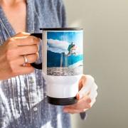 Personalised Travel Mug with photo