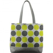 Anges Grey Polka Shoulder Bag