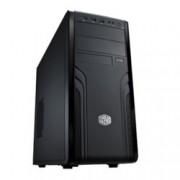 Кутия CoolerMaster Force 500, ATX/Micro ATX, черна, USB 3.0, без захранване