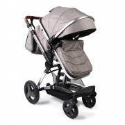 Cangaroo Kombinovana Kolica za bebe Veyron Light Gray (CAN4676)