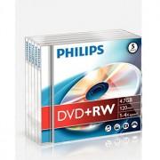 Philips DVD+RW Philips 4.7GB 4X Jewell Case 5