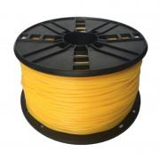 Filament Flexibil TPE pentru Imprimanta 3D 1.75 mm 1 kg - Galben (GMB)
