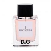 Dolce&Gabbana D&G Anthology L´imperatrice 3 eau de toilette 50 ml Donna