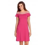 Laurencja női hálóing rózsaszín M