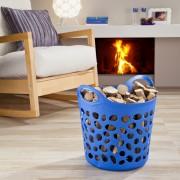 Cos multifunctional pentru depozitare-Albastru
