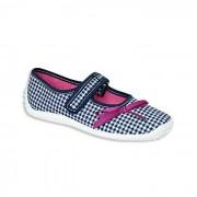 Pantofi sport copii, fete - alb, albastru, Zetpol - Z-JULIA5954-25-albastru-alb