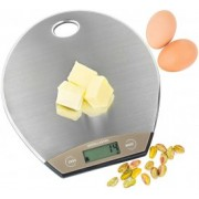Cantar electronic de bucatarie Andrew James Digital Ultra Slim AJ000615, Max 5 Kg, Profil 13mm