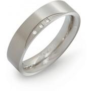 Boccia Titanium Titanový snubní prsten s diamanty 0138-02 55 mm