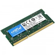 Crucial RAM 4GB DDR3L 1600 MT/s (PC3-12800) CL11 SODIMM 204pin 1.35V/1.5V Single Ranked CT51264BF160BJ