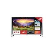 "Smart TV LED 43"" TC-43ES630B Panasonic, Full HD HDMI USB e Wireless Media"