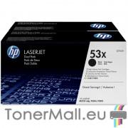 Комплект тонер касети HP Q7553XD (Black)