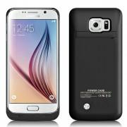 Coque batterie noire pour Samsung S6 - 1900 mAh