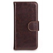 Xqisit Eman Wallet Case (iPhone 5/5S/SE) - Svart
