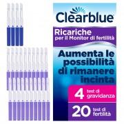 > CLEARBLUE Stick Fertilita' 20 + 4
