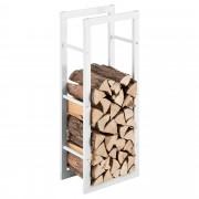 [en.casa] Držiak na palivové drevo AAFR-6612 biely