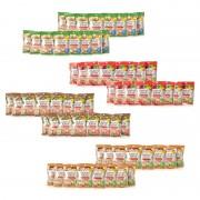 こんにゃくスナック お野菜4味64袋セット【QVC】40代・50代レディースファッション