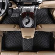 Covorase auto LUX PIELE 5D VW Tiguan 2007-2017 ( 5D-012 cusatura bej )
