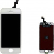 Compatibile Apple AA - 821-1590-01 - Vetro LCD per iPhone 5s - Bianco (Grado AA)