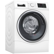 Bosch WDU28560GB Freestanding Washer Dryer, 10kg Wash/6kg Dry Load, A Energy Rating, 1400rpm Spin, White