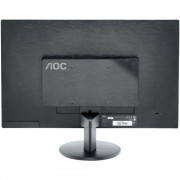 "Monitor 23.6"" AOC E2470SWHE, FHD 1920*1080, TN, 16:9, WLED, 5 ms, 250 cd/m2, 20M:1/ 1000:1, 170/160, HDMI, VGA, headphone out, VESA, Black"