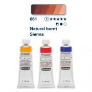 Schmincke Mussini olajfesték, 35 ml - 661, natural burnt sienna