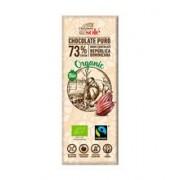 Minitableta Ciocolata Bio Neagra cu 73% Cacao Pronat 25gr