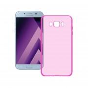 Funda Para Samsung A500 Galaxy A5 Silicon TPU - Rosa