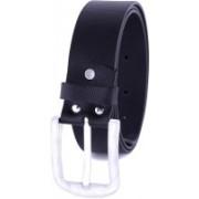 SD PREMIUM Men Formal Black Genuine Leather Belt