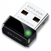 Tarjeta De Red Inalambrico USB Nano TP-Link TL-WN725N Banda De Alta Ganancia 150mbps Antena Interna-Blanco