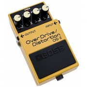 Boss OS-2 OverDrive/Distortion Pedal guitarra eléctrica