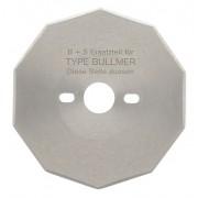 Kruhový nůž BULLMER 0470/1 10-CURVES BS