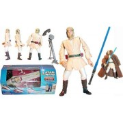 Star Wars Attack of the Clones (AOTC) Obi-Wan's Jedi Starfighter with Obi-Wan Pilot Figure Included - The cool...