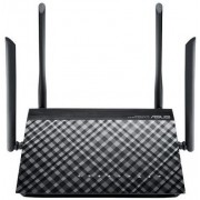 Router Wireless Asus RT-AC1200G+, Gigabit, Dual Band, 1200 Mbps, 4 Antene Externe