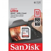 SanDisk Ultra 32GB SDHC Class 10 UHS-I 80MB/s